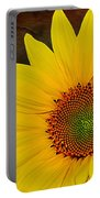 Glowing Sunflower Portable Battery Charger