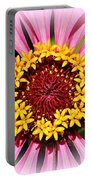 Glowing Zinnia By Kaye Menner Portable Battery Charger