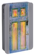 Glowingthrough Painted Door Portable Battery Charger