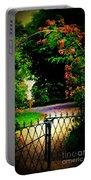 Go And Smell The Roses Portable Battery Charger