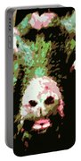 Goat Abstract Portable Battery Charger