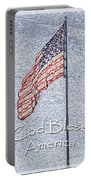God Bless America Portable Battery Charger