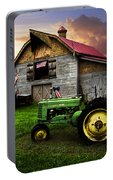 God Bless America Portable Battery Charger by Debra and Dave Vanderlaan