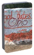 God Hates Ohio Portable Battery Charger