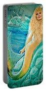 Goddess Atargatis 1000 Bc Portable Battery Charger by Gary Keesler