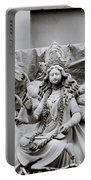 Goddess Durga Portable Battery Charger by Shaun Higson