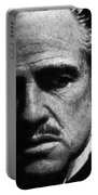 Godfather Marlon Brando Portable Battery Charger by Tony Rubino
