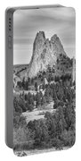 Gods Colorado Garden In Black And White    Portable Battery Charger