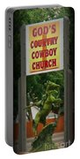 Gods Country Cowboy Church Portable Battery Charger