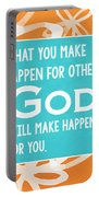 God's Gift Portable Battery Charger