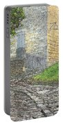 Going Up The Lane In Beynac Digital Print Portable Battery Charger