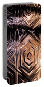 Gold Carving Portable Battery Charger