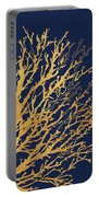 Gold Medley On Navy Portable Battery Charger