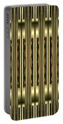 Gold Metallic 18 Portable Battery Charger