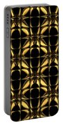 Gold Metallic 8 Portable Battery Charger