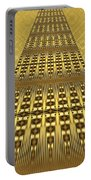 Gold Metallic 9 Portable Battery Charger