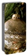 Gold Ornament Portable Battery Charger