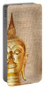 Gold Painted Buddha Statue Portable Battery Charger