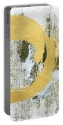 Gold Rush - Abstract Art Portable Battery Charger