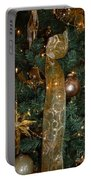 Gold Tones Tree Portable Battery Charger