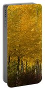 Golden Aspens Portable Battery Charger by Don Schwartz