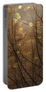 Golden Autumn Abstract Sky Portable Battery Charger