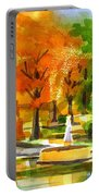 Golden Autumn Day 2 Portable Battery Charger