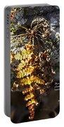 Golden Autumn Fern Portable Battery Charger