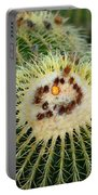 Golden Barrel Cactus Portable Battery Charger