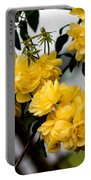Golden Blooms One Portable Battery Charger