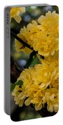Golden Blooms Two Portable Battery Charger