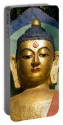Golden Buddha Portable Battery Charger by Nila Newsom