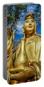 Golden Buddha Statue Portable Battery Charger