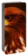 Golden Eagle Eye Fractalius Portable Battery Charger