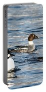 Golden-eyed Ducks Portable Battery Charger