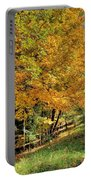 Golden Fenceline Portable Battery Charger