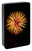 Golden Fireworks Flower Portable Battery Charger