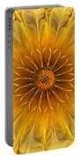 Golden Flower Portable Battery Charger