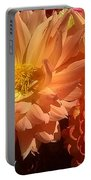 Golden Flowers Upclose  Portable Battery Charger