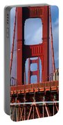 Golden Gate Bridge Portable Battery Charger by Adam Romanowicz