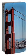 Golden Gate Bridge And San Francisco Portable Battery Charger