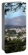 Golden Gate From Buena Vista Park Portable Battery Charger