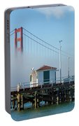 Golden Gate In The Fog Portable Battery Charger