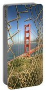 Golden Gate Through The Fence Portable Battery Charger