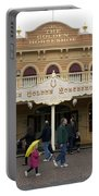 Golden Horseshoe Frontierland Disneyland Portable Battery Charger
