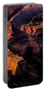 Golden Hour Mather Point Grand Canyon National Park Portable Battery Charger