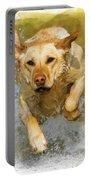 Golden Labrador Portable Battery Charger