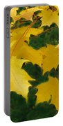 Golden Leaves Floating Portable Battery Charger
