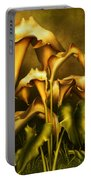 Golden Lilies By Night Portable Battery Charger