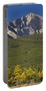 Golden Longs Peak View Portable Battery Charger